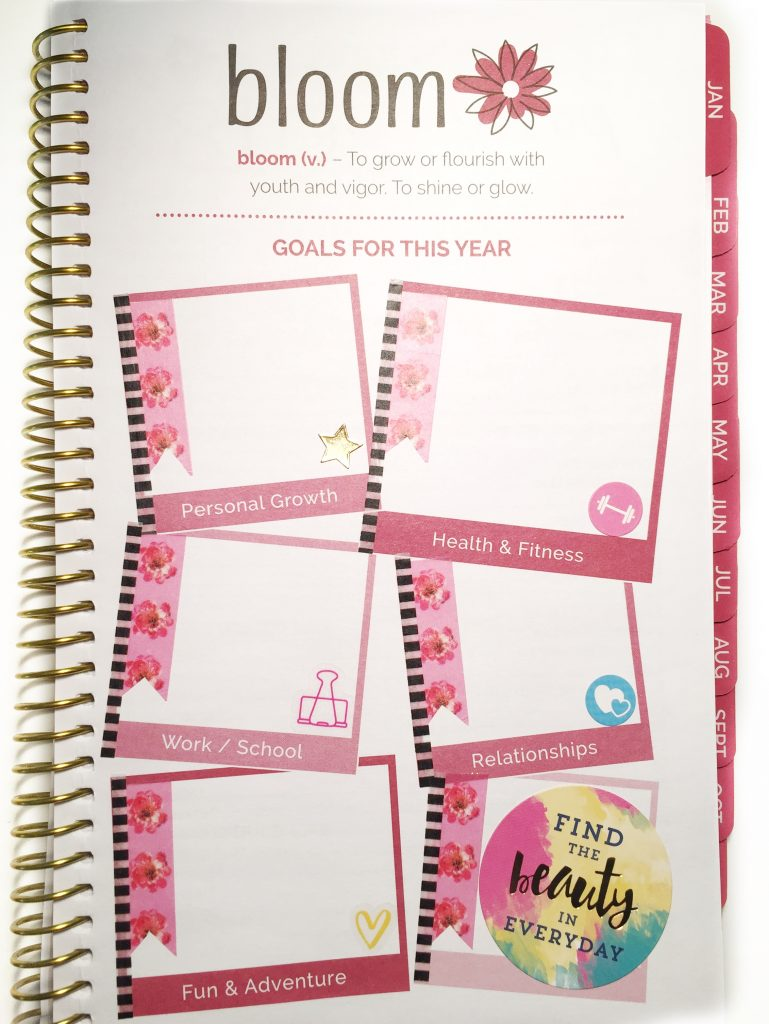 Plan with me! Bloom daily planner is the perfect planner to take everywhere. This post is how I decorated my Bloom planner. I used the Happy Planner stickers and washi tape to decorate my planner.