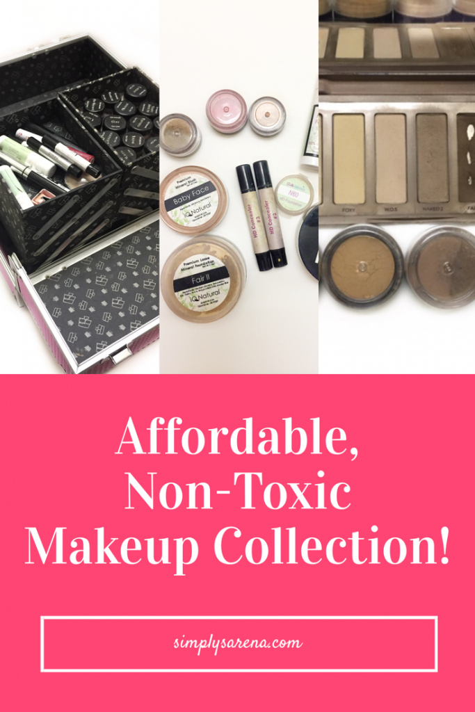 Do you know what's in your makeup? My makeup collection is non-toxic and affordable. I have mostly eliminated toxic chemicals from my makeup collection. This is my affordable, non-toxic makeup collection.